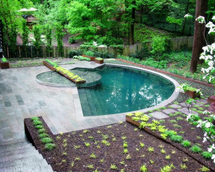 Идеи обустройства маленьких бассейнов