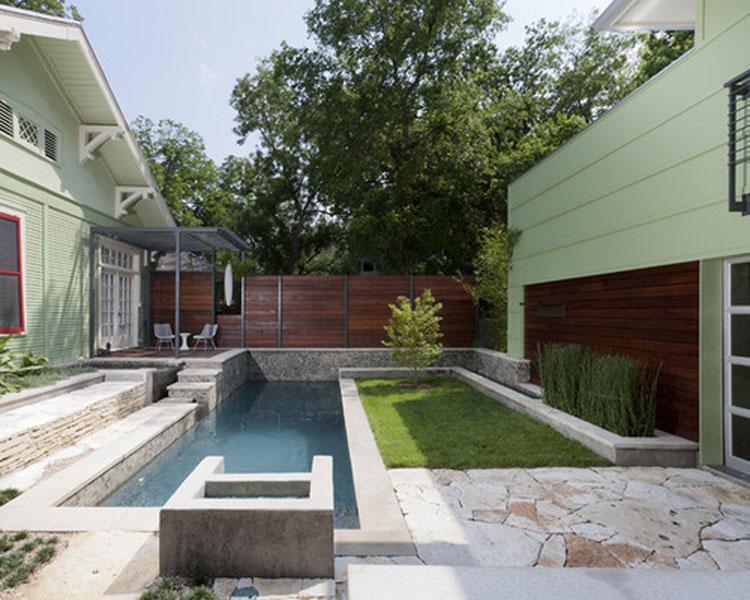 Обустройства маленьких бассейнов на даче