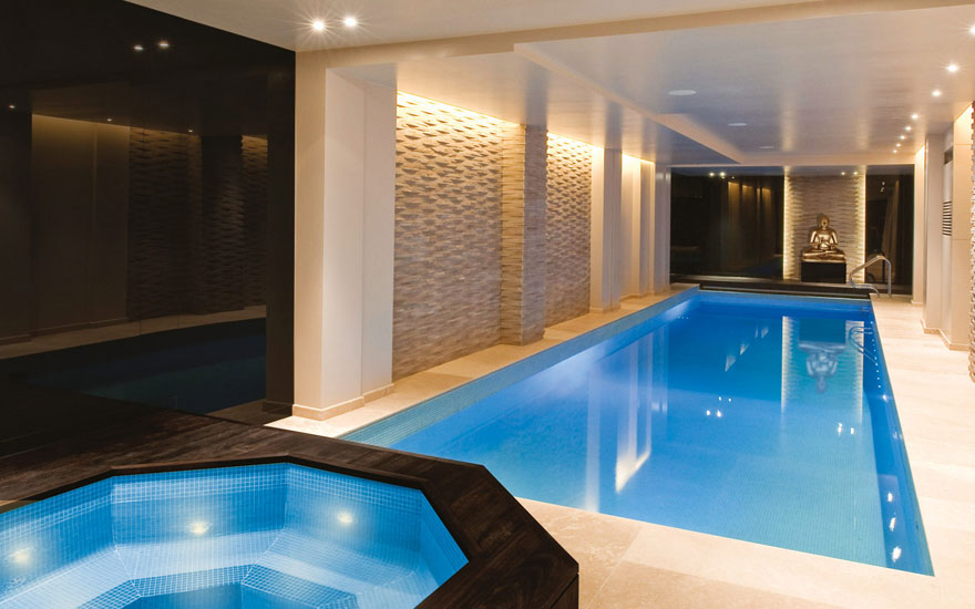 фото больших бассейнов
