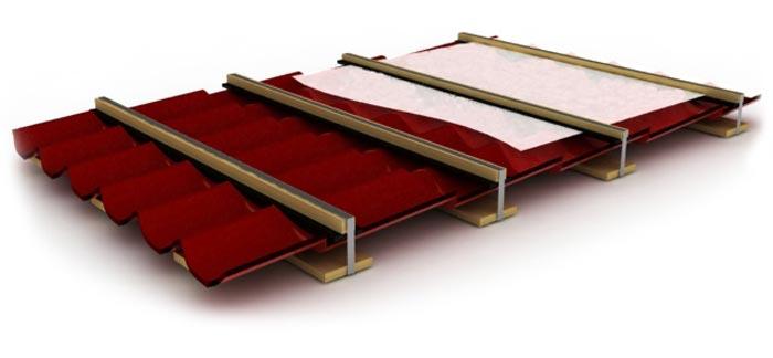 Хранение кровельных материалов